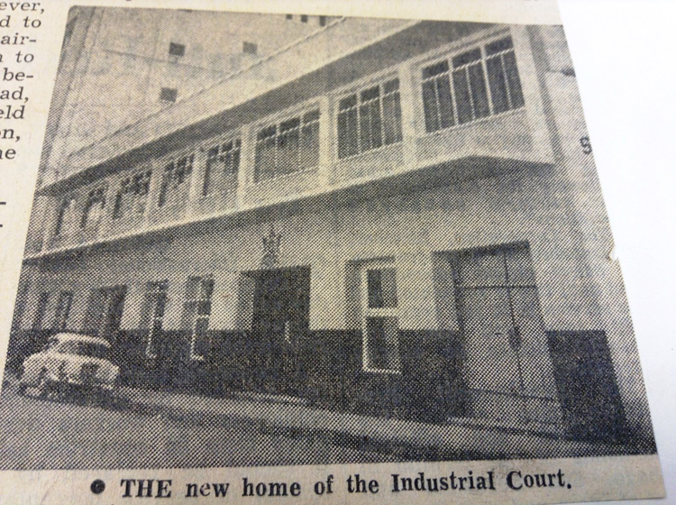 new home of industrial court