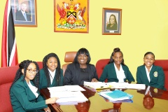 St. Francois Girls' College World-of-Work Internship at the Industrial Court